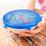 Flexilids - Set of 6 Multipurpose Silicone Lids