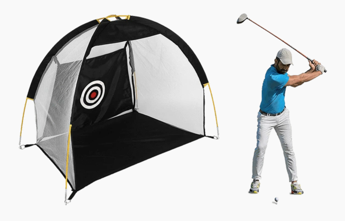 PuttHut Golf-at-Home Precision Targeting Tent