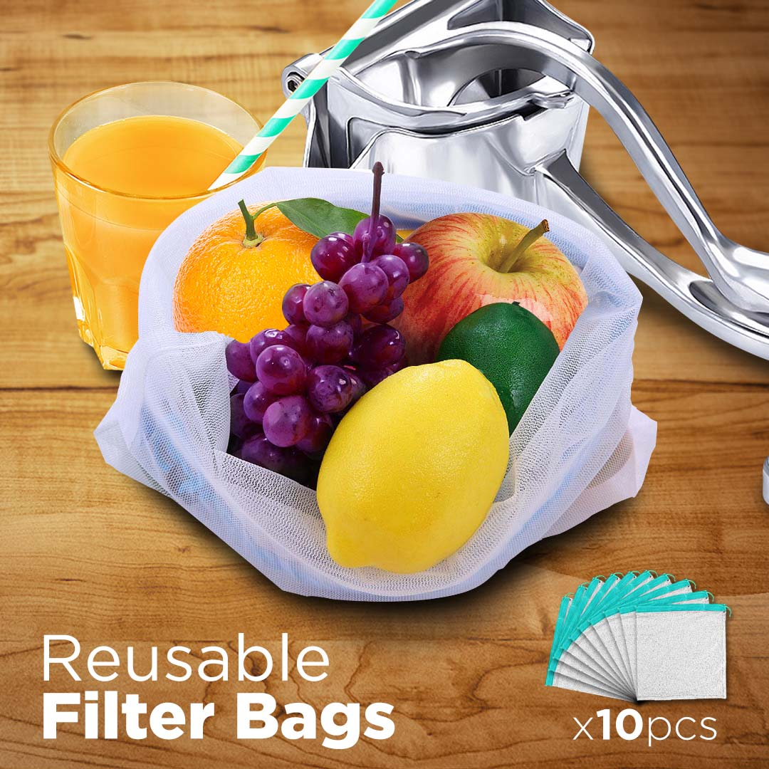 Reusable Nylon Filter Bags (10 Pcs)