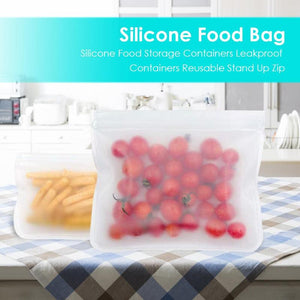 Silicone Storage Bag (Set of 10)