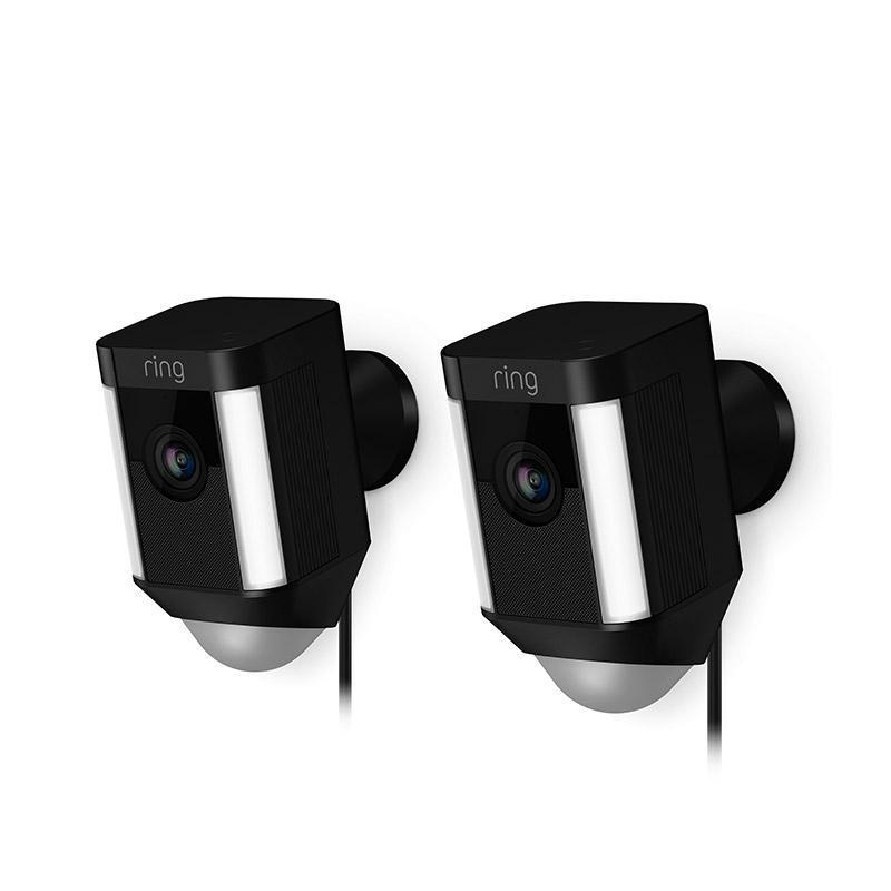 2-Pack Spotlight Cam Wired