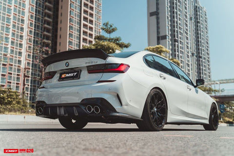 Carbon Carz-  BMW 3 Series G20 Rear Diffuser CMST Style