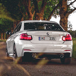 Carbon Carz - BMW F22 2 Series Carbon Fiber Rear Diffuser