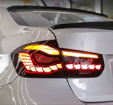 Carbon Carz - BMW M3 F80 / F30 3 Series Rear Tail Lights (M4 GTS OLED STYLE)