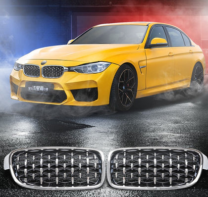 CARBON CARZ- F30 BMW 3 SERIES NEW STYLE KIDNEY GRILL 12-18