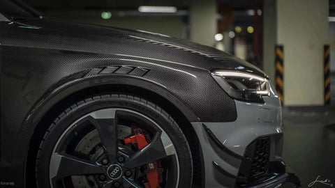 Karbel - Audi RS3 Dry Carbon Side Fender ( PREPEG )