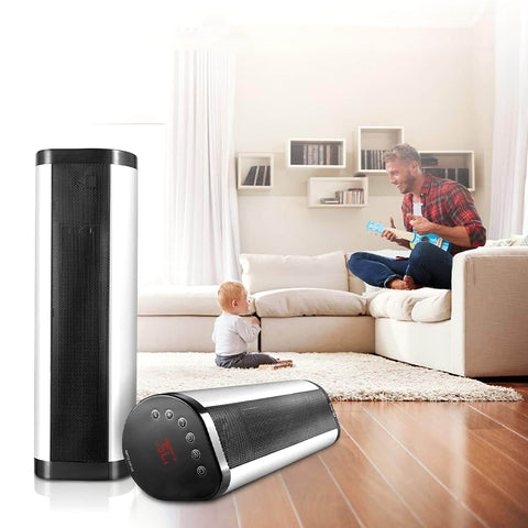 Portable 1500W Vertical Programmable Space Heater