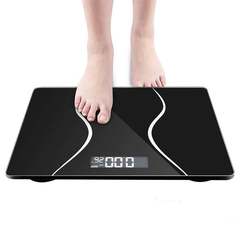 Electronic LCD Digital Bathroom Body Weight Scale