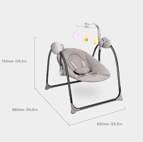 Premium Baby Bouncer Rocking Sleep Chair
