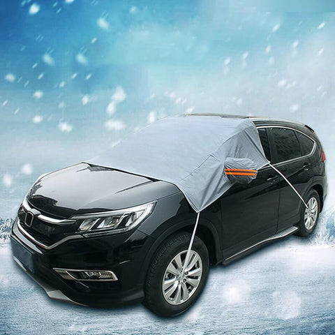 Premium Waterproof Car Snow And Ice Windshield Cover