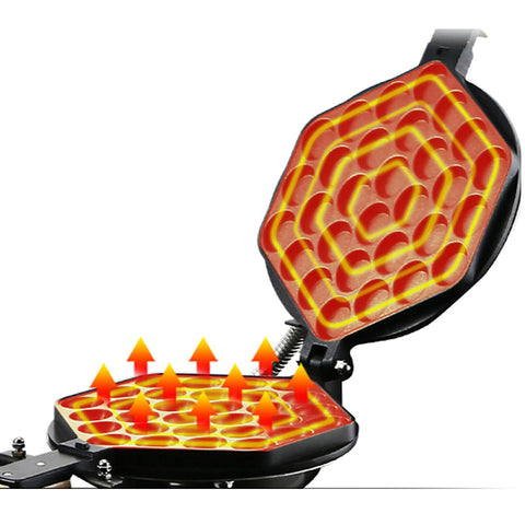 Commercial Electric Waffle Maker Machine
