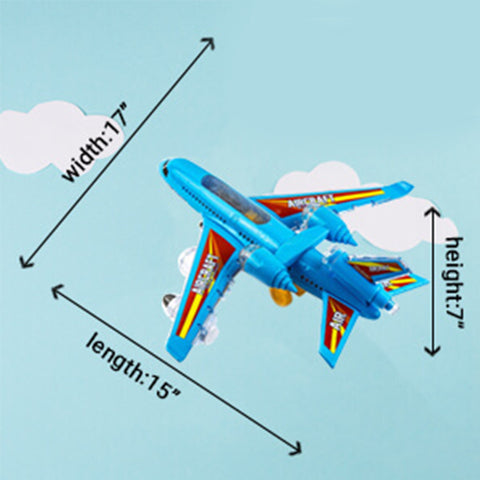 Ultimate Kids LED Airbus Toy Airplane Set