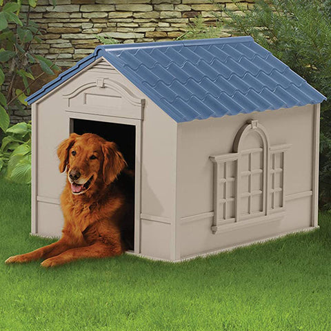 Premium Outdoor Dog House with Door