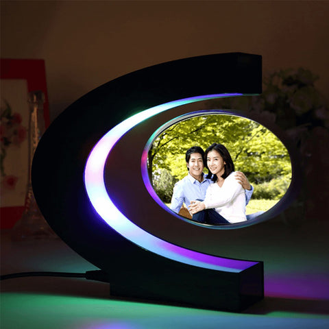 Portable C-shaped Magnetic Floating Picture Photo Frame