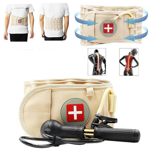 Lumbar Air Traction Decompression Back Brace