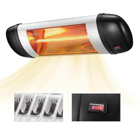 Electric Wall Mounted Patio Heater 1500W