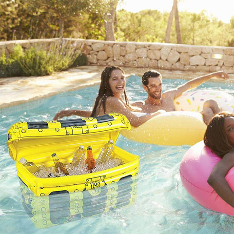 Portable Inflatable Ice Container Beverage Cooler