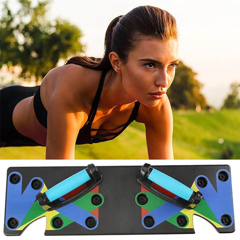 Portable 9in1 Push Up Rack Board