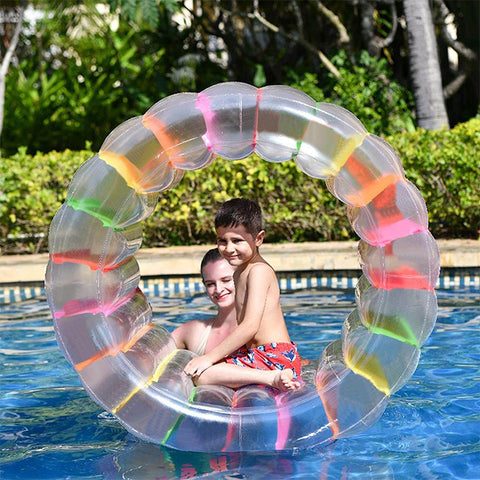 Colorful Inflatable Roller Pool Float