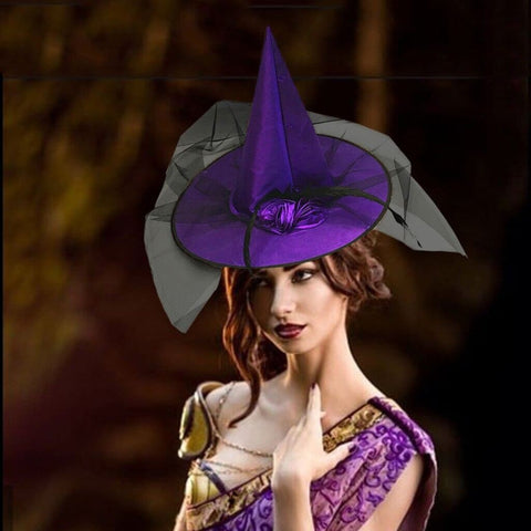 Witch Hat Accessory for Halloween Parties