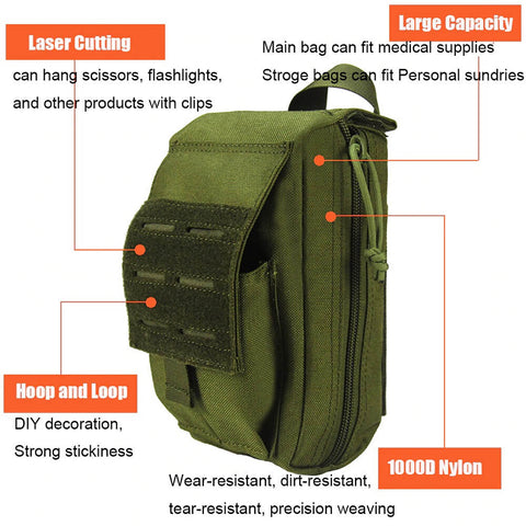 Tactical First Aid Kit Survival Bag