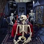 90CM Halloween Haunted House Props Skeleton Dry Corps