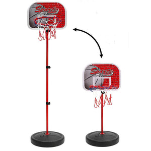 Adjustable Children Basketball Stand