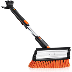 Extendable Snow Scraper with Brush