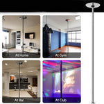 Premium Spinning Static Stripper Dance Pole