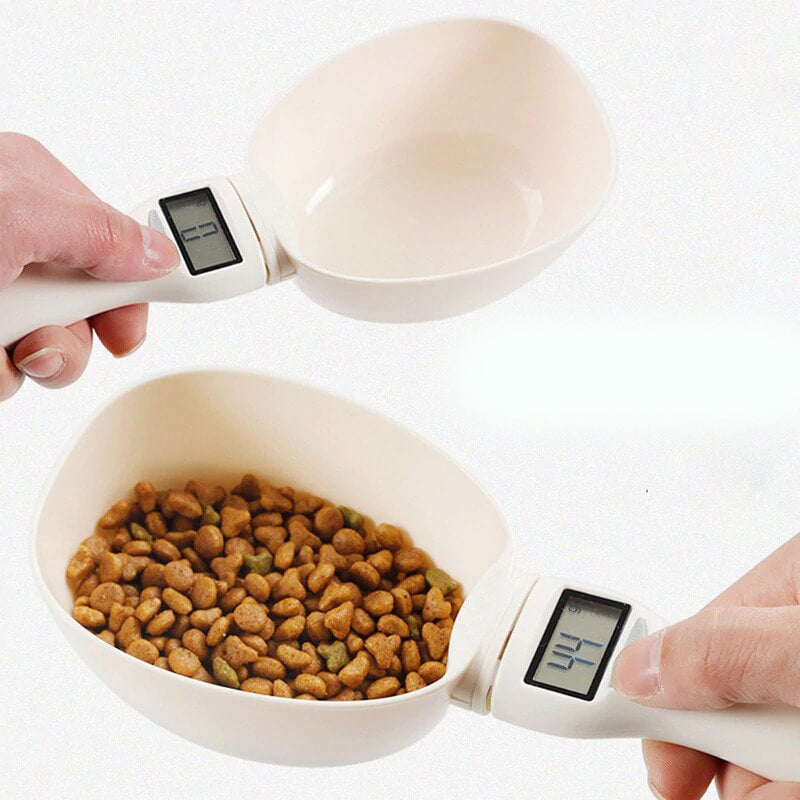 Pet Food Scale Cup Feeding Bowl