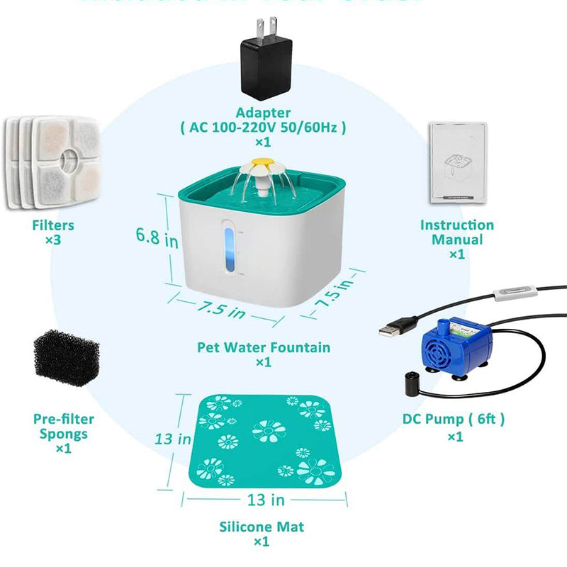 Automatic Pet Water Fountain