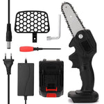 Portable Electric Woodworking Chain Saw