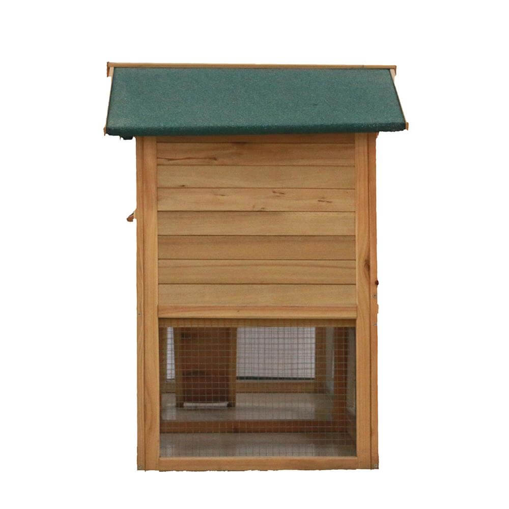 "58"" Large Wooden Chicken Coop House"