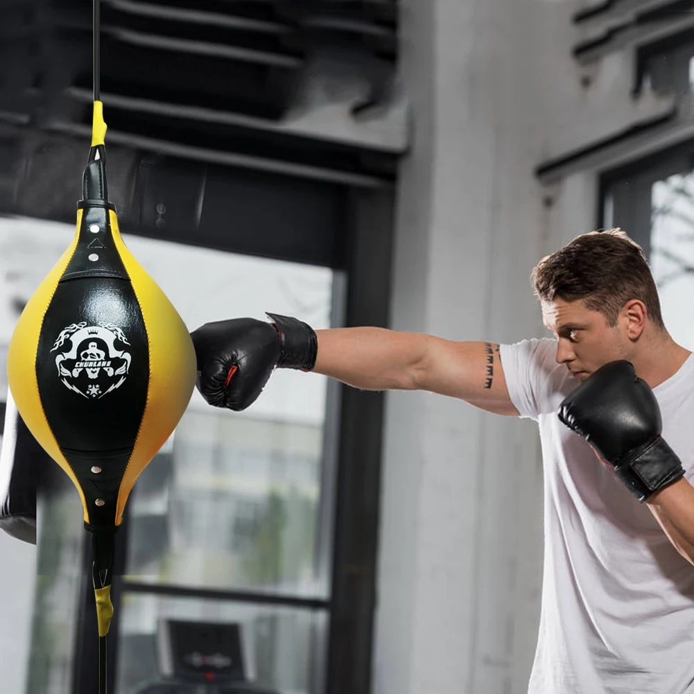 Double End Speed Punching Reflex Bag
