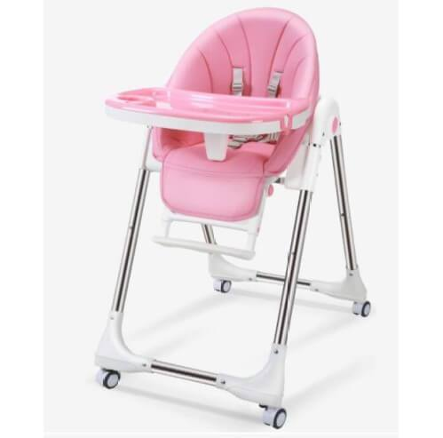 Foldable Baby Feeding Convertible High Chair
