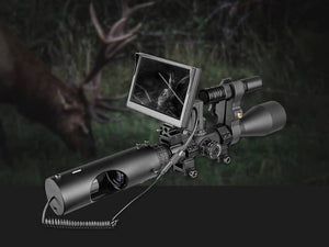Wild Night Vision Scope – 850nm Infrared LED – Waterproof – 5 inches LCD screen