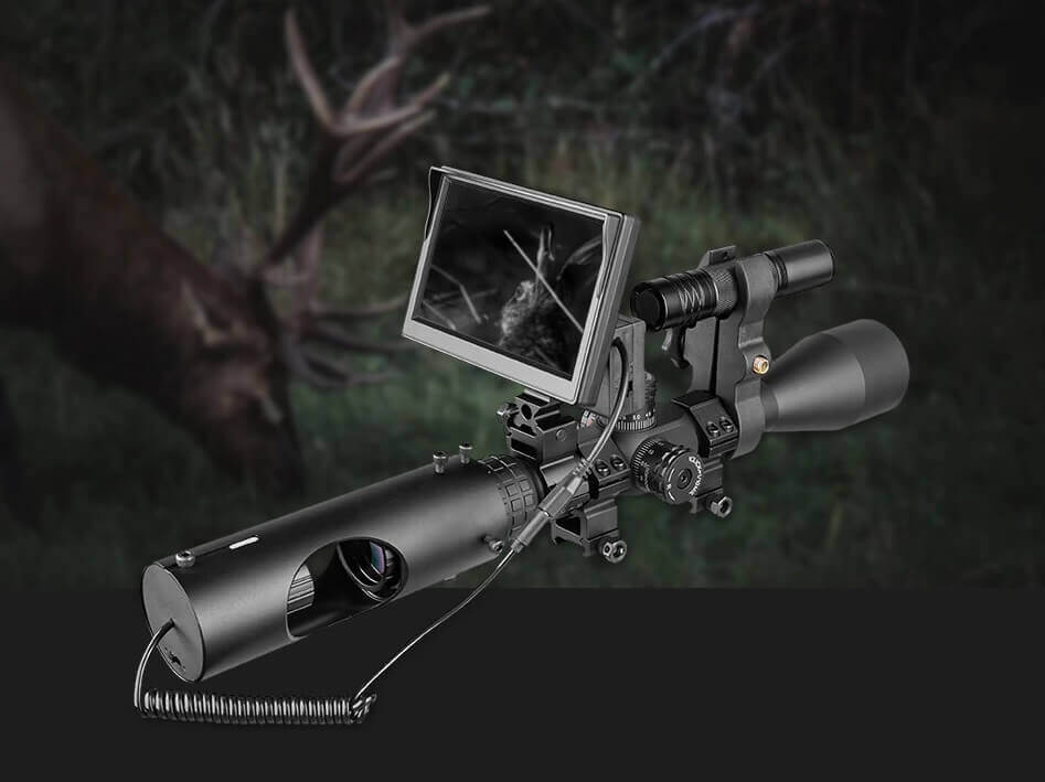 Wild Night Vision Scope – 850nm Infrared LED – 5 inches LCD screen