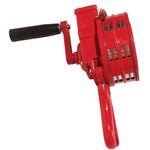 Hand-Crank Operated Emergency Alarm