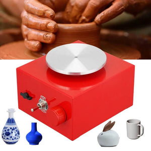 Premium Pottery Wheel DIY Clay Tool with Tray