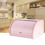 Stainless Steel Food Storage Bread Bin Roll Top