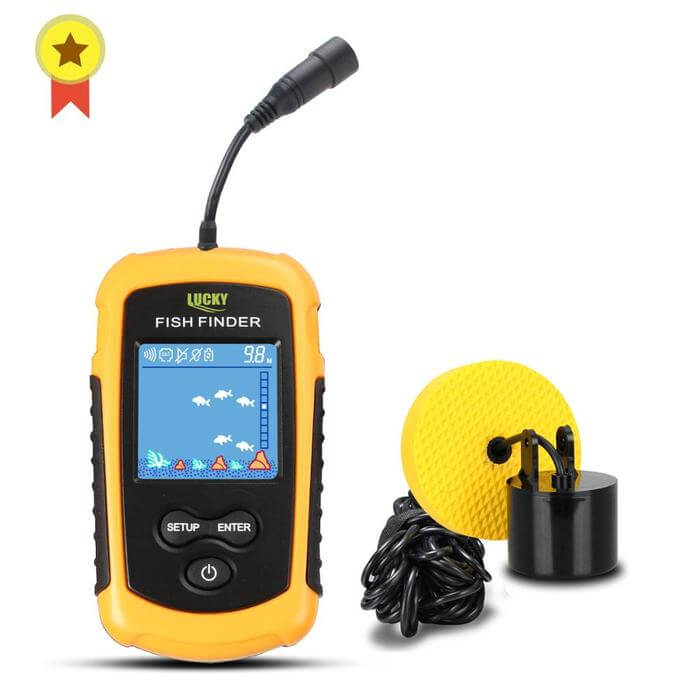 Portable Fish Finder Wireless Sonar Detector