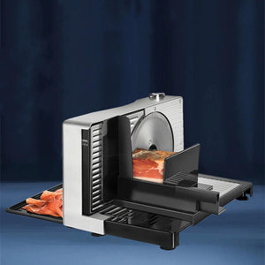 Semi-Automatic Commercial Meat Slicer