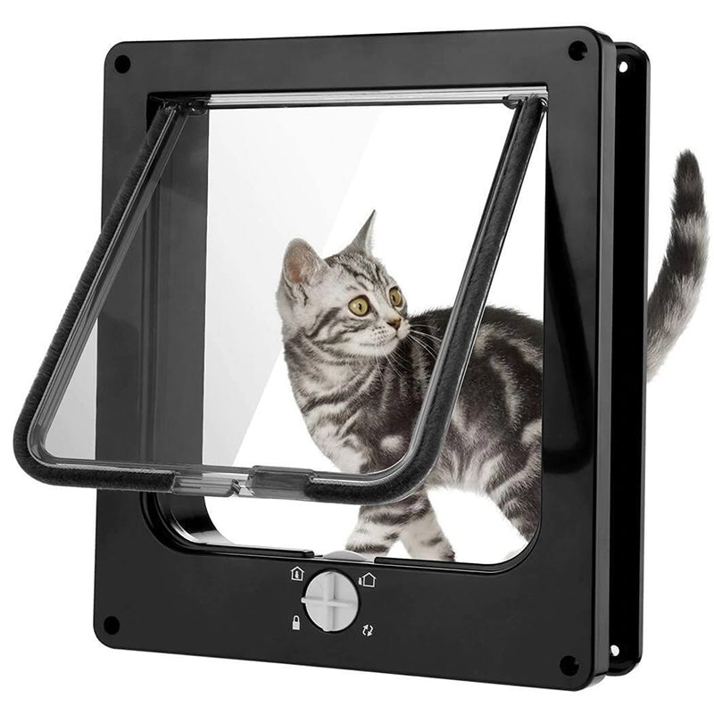 4 Way Security Cat Door