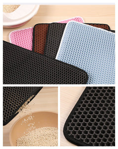 Double-Layer Foldable Waterproof Cat Mat