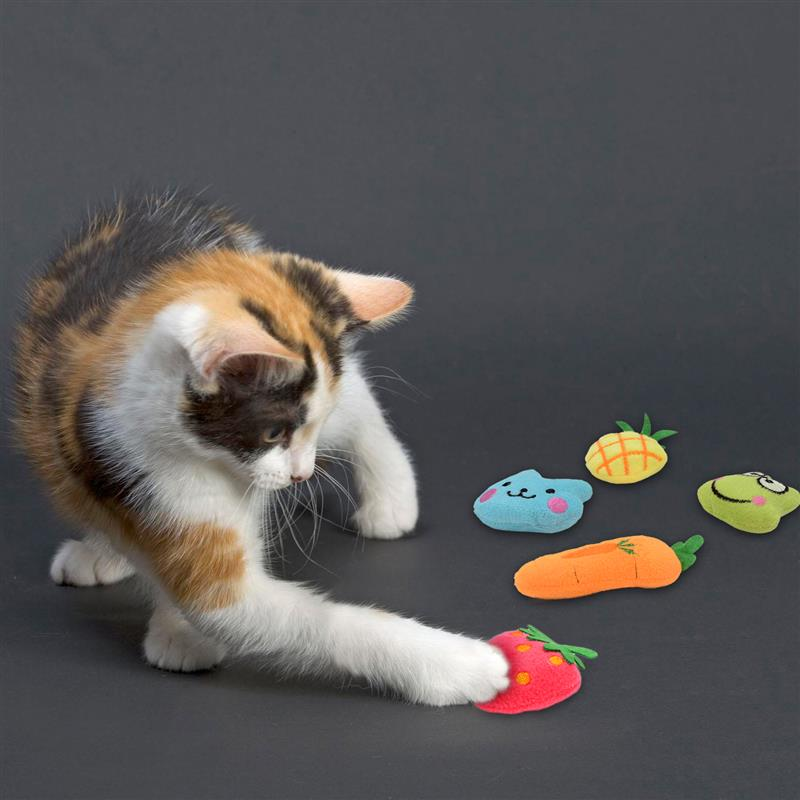 3D Soft Plush Fish Shape Cat Toy - Funny Cats Shop