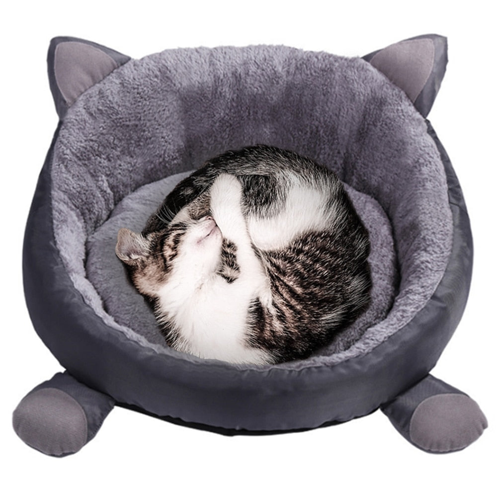 Round Four Seasons Cat Rest Bed - Funny Cats Shop