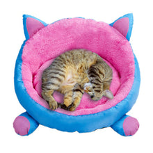 Load image into Gallery viewer, Round Four Seasons Cat Rest Bed