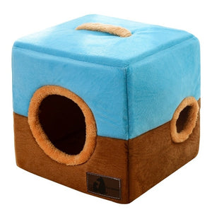 Soft Cube Cat House
