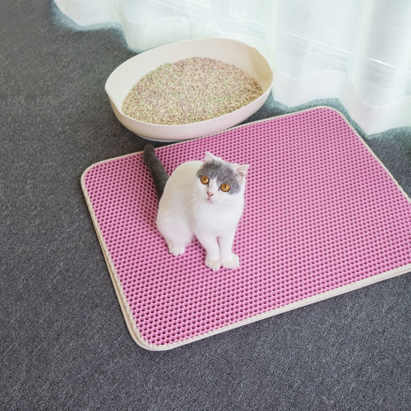 Double-Layer Foldable Waterproof Cat Mat - Funny Cats Shop
