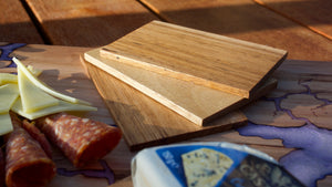 TIMBER CHEESE TRIVETS
